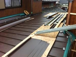 屋根貼り替え(外壁貼り替え工事含む)