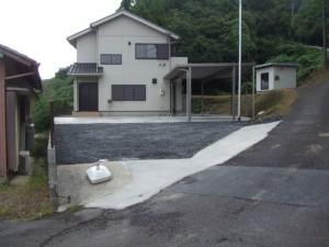 外壁塗装・駐車場土間コンクリート