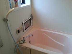 リンナイDS-1201HV 浴室TV取付工事