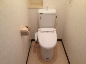 ウォシュレット付トイレ INAX CW-H33型(ピュアホワイト)