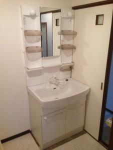 洗面化粧台ノーリツ シャンピーヌS(ホワイト)