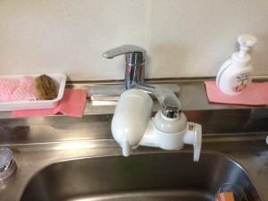 シングルレバー水栓取替え
