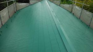 屋根塗装工事(スーパームキコートルーフ)