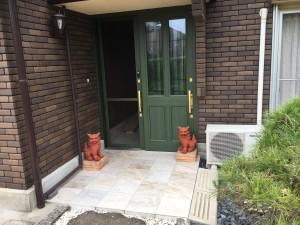 玄関ドア&ポーチ工事