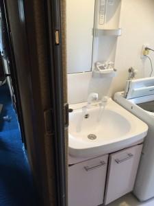 洗面台交換(ユニットバス交換含む)