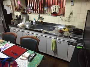 キッチン工事(床工事、内装工事含む)