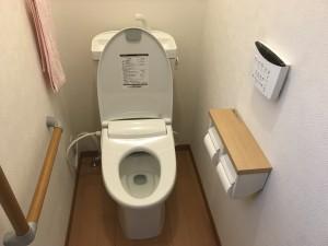 トイレ工事(ウォシュレット交換)