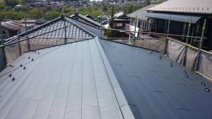 屋根上貼り工事(その他工事含む)