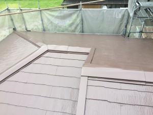 屋根塗装工事(樋交換工事)