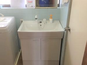 洗面台交換工事(その他工事含む)