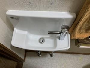 トイレ手洗器交換(その他工事含む)