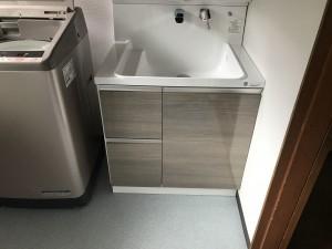 洗面台交換工事
